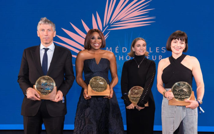Mo Abudu Cannes Film Medal of Honour Medalailes d' honneur
