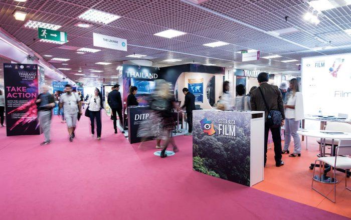 Palais Booth Callsheet Cannes Film Festival