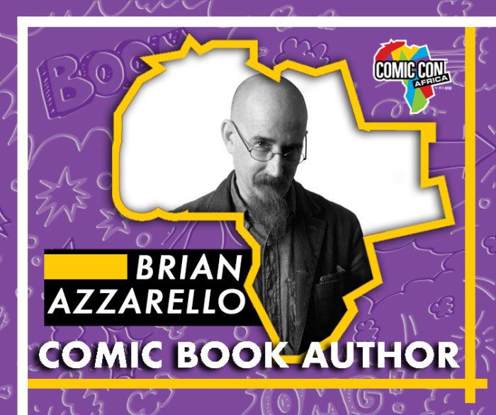 Brian Azzarello Comic Con Africa Comic Book Author